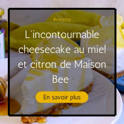 Actualité cheesecake au miel et citron